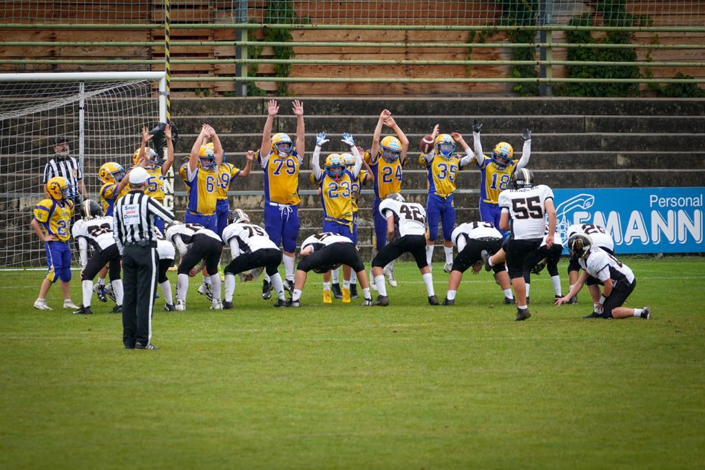 Sieg der U13 über Graz Giants