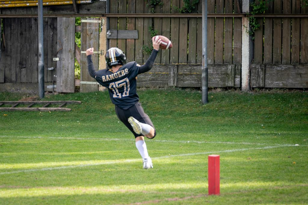 U13 RANGERS – Loss beim Heimspiel gegen die Raiders
