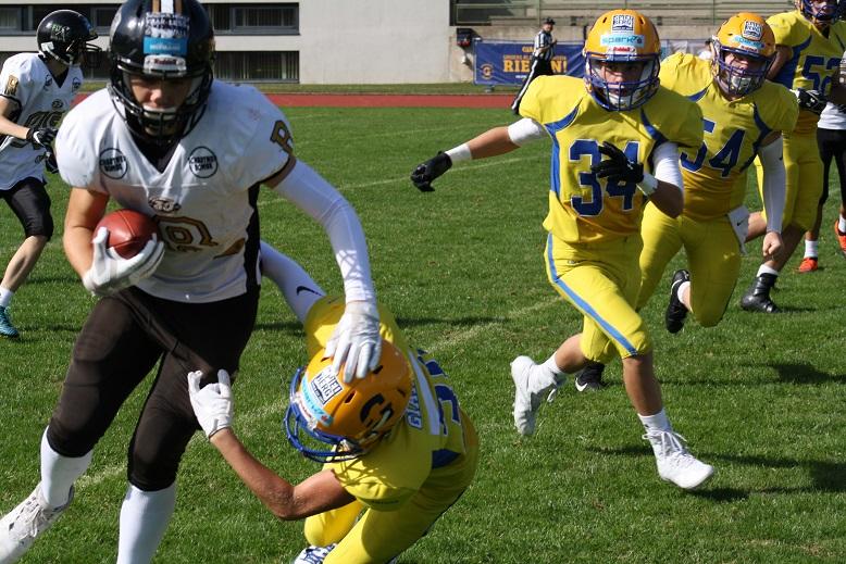 Giants siegen erneut gegen unsere U15