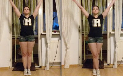 Workout – Hamstring Standing Crossed & Uncrossed