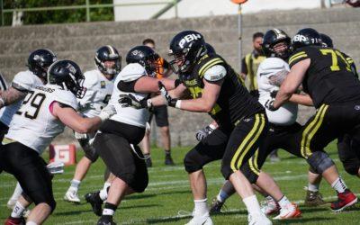 Knapp gegen Prague Black Panthers in Mödling verloren